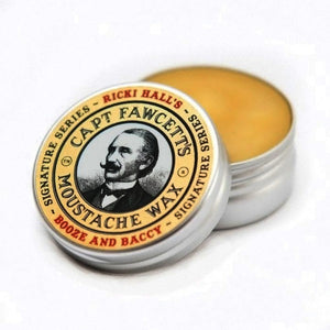 CAPTAIN FAWCETT'S CERA PARA BIGOTE RICKY HALL'S BOOZE AND BACCY - 15 ml