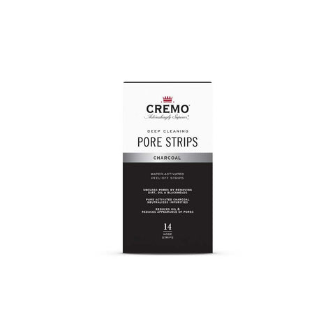 CREMO PORE STRIPS-CHARCOAL