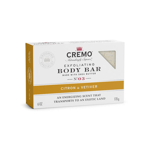 CREMO BODY BAR-BARRA LIMPIADORA-Citron & Vetiver
