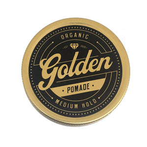 GOLDEN BEARDS POMADA ORGANICA PARA EL CABELLO