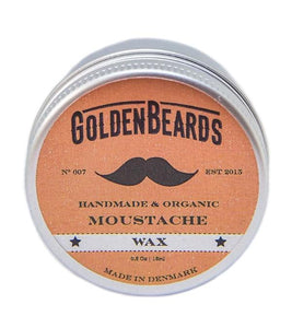GOLDEN BEARDS CERA ORGANICA PARA BIGOTES 15 ml.