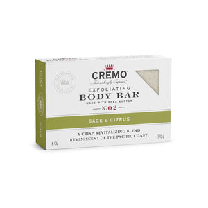 CREMO BODY BAR-BARRA LIMPIADORA-Sage & Citrus