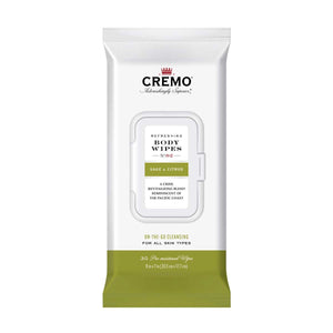 CREMO BODY WIPES-Sage & Citrus