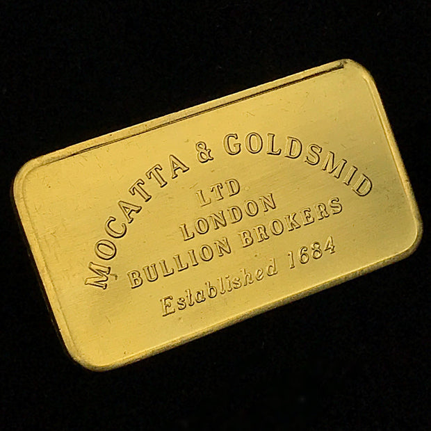 Mocatta & Goldsmid 1oz Gold Bar