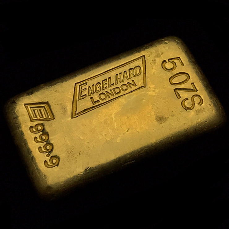 Engelhard London 5oz ingot