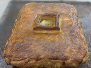 FRIDAY 9 OCTOBER / 2 SERVES / Scallop Pie, Watercress, Salad of Gem Lettuce, Mint & Radish