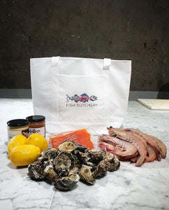 Fish Butchery Cooler Tote