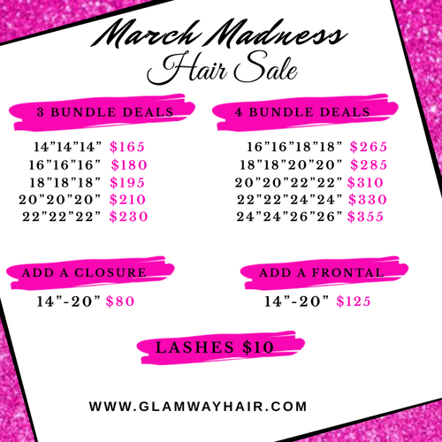 MARCH MADNESS FRONTAL SALE