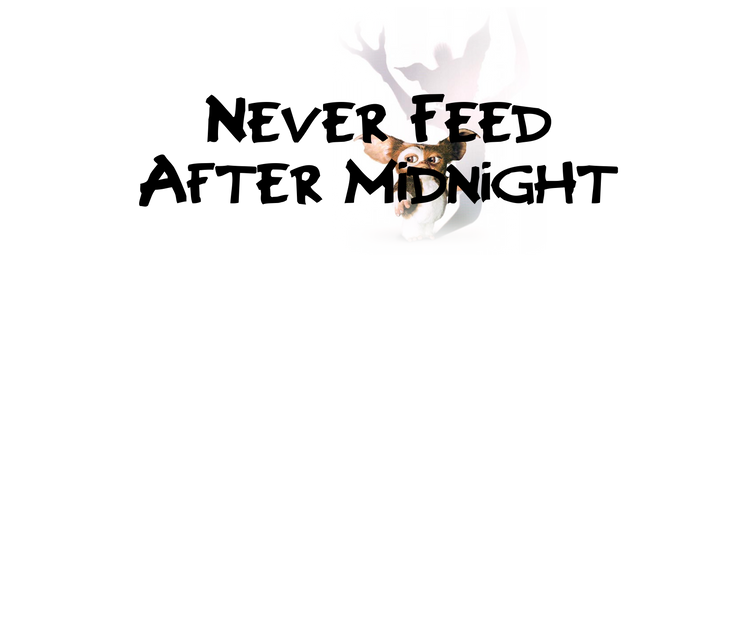 Never Feed After Midnight Scent