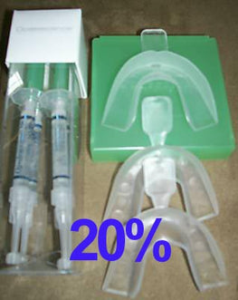 Opalescence 20% Mint 4 syringes & 3 Bleaching Tray Kit
