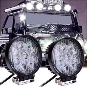 4 Inch Round High Power Off-Roading Spot Lights (Set of Two) - Road Dog Autobody