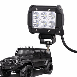 "Double Row LED Spot Light (4"" - 12"") - Road Dog Autobody"