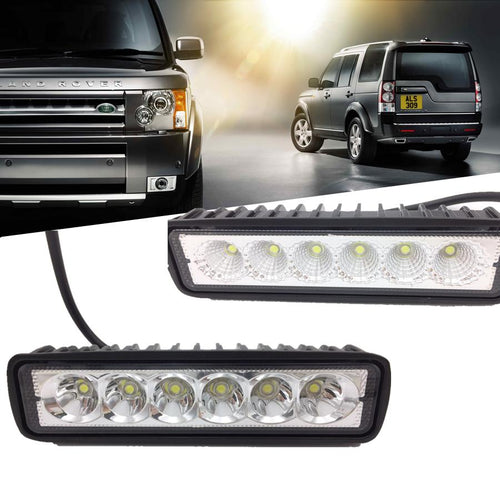High Power LED Off-Roading / Work Light Bars (Set of Two) - Road Dog Autobody