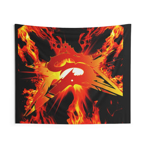 Sepsiss Fire Star Tapestry