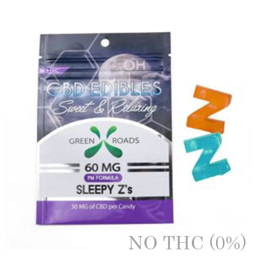 CBD EDIBLE SLEEPY Z's 60MG BY GREEN ROADS