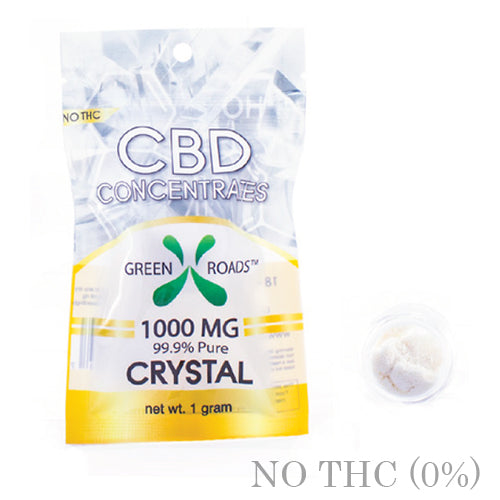 CBD DAB CRYSTALS 1000MG BY GREEN ROADS