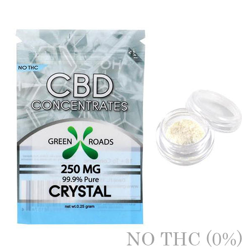 CBD DAB CRYSTALS 250MG BY GREEN ROADS