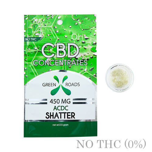 CBD SHATTER ACDC 450MG BY GREEN ROADS