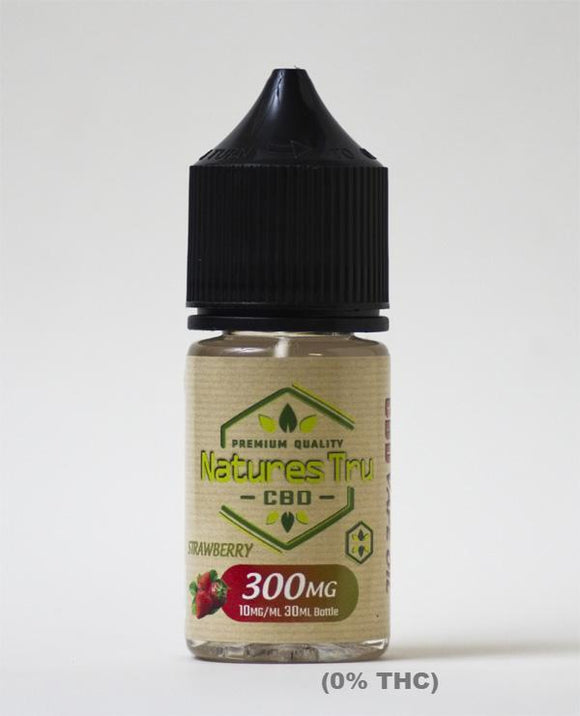 Natures Tru Vape Oil Strawberry - 300mg