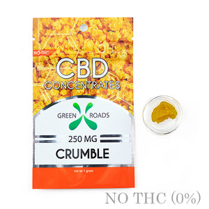 CBD DAB CRUMBLE 250MG BY GREEN ROADS