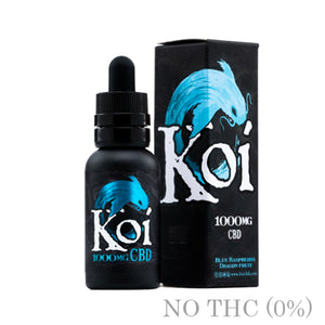 Blue Raspberry Dragon fruit CBD BY KOI - 30ml