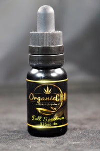 OrganicCBD - Pure Full Spectrum CBD Oil