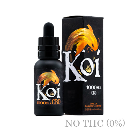 Vanilla Caramel Custard CBD BY KOI - 30ml
