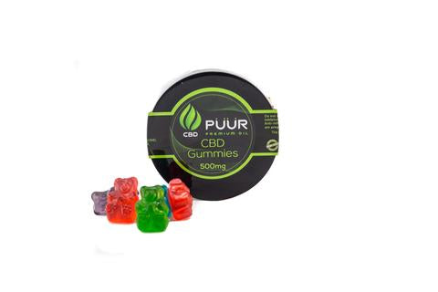 PUUR PREMIUM OIL:  SOUR PATCH FRUIT (1000 MG)