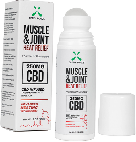 GREEN ROADS Muscle & Joint Heat Relief (250mg)