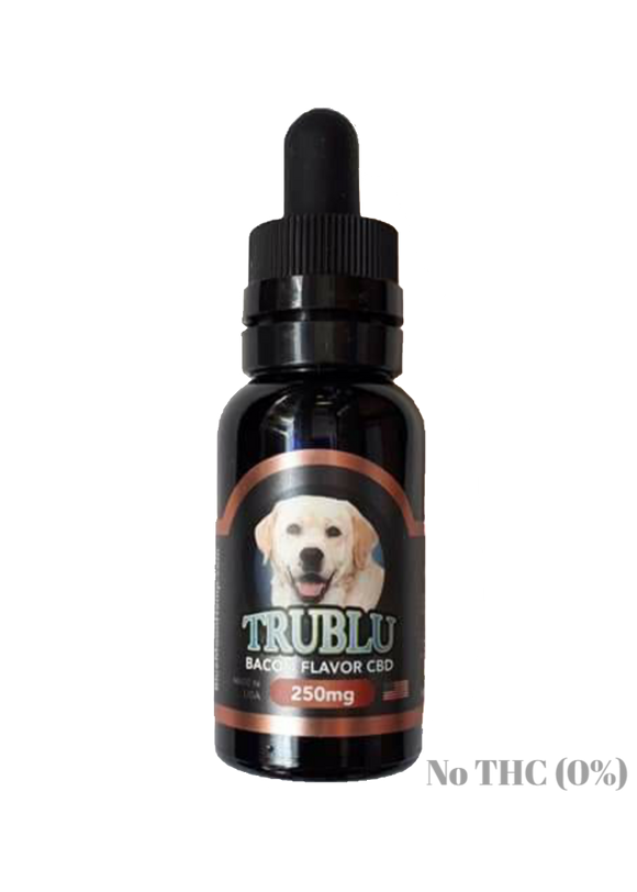 Blue Moon Hemp: TRUBLU - (PET) BACON FLAVOR CBD TINCTURE (250mg)