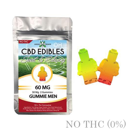 CBD GUMMIES LEGO MEN 60MG BY GREEN ROADS