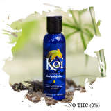 KOI LAVENDER HAND AND BODY LOTION - CBD 200MG with Background Image