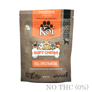 SOFT CHEWS CBD FOR PETS BY KOI