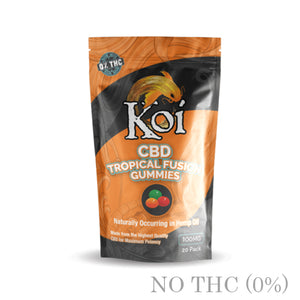 CBD EDIBLE TROPICAL FUSION GUMMIES BY KOI