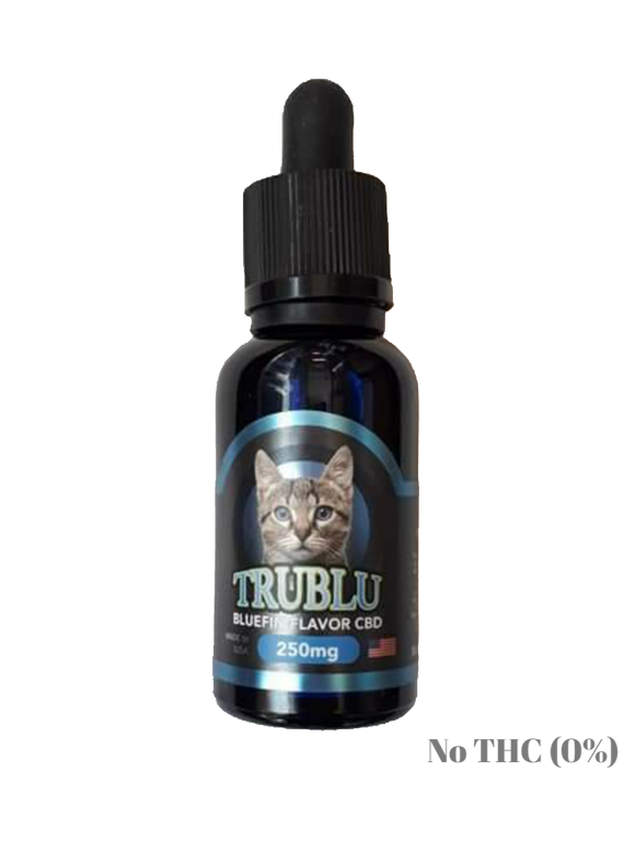 Blue Moon Hemp: TRUBLU - (PET) BLUEFIN CBD TINCTURE (250mg)