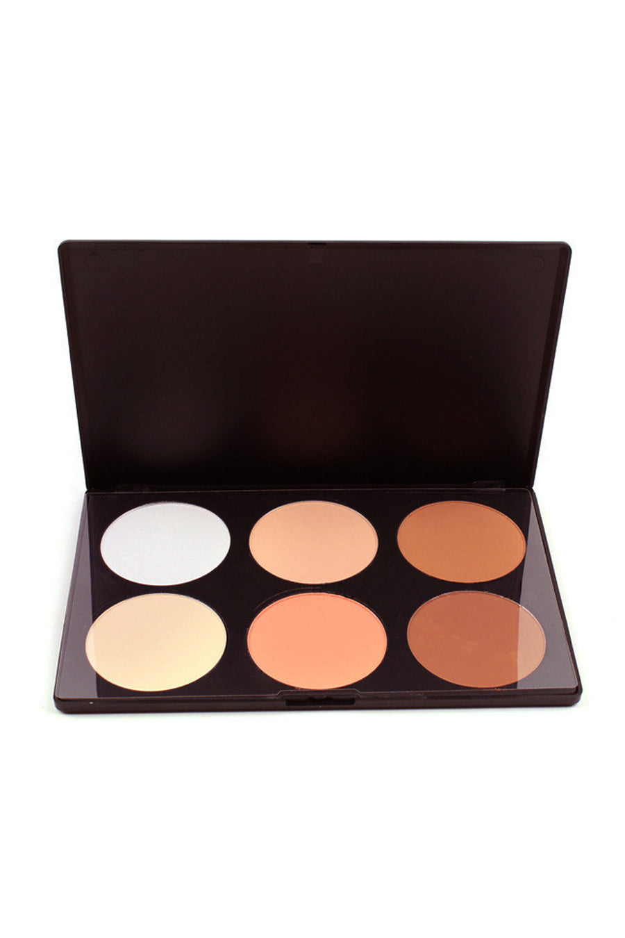 6 Color Powder Contour Palette