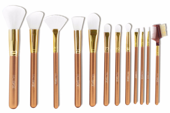 12-Piece Brush Set - Bronze