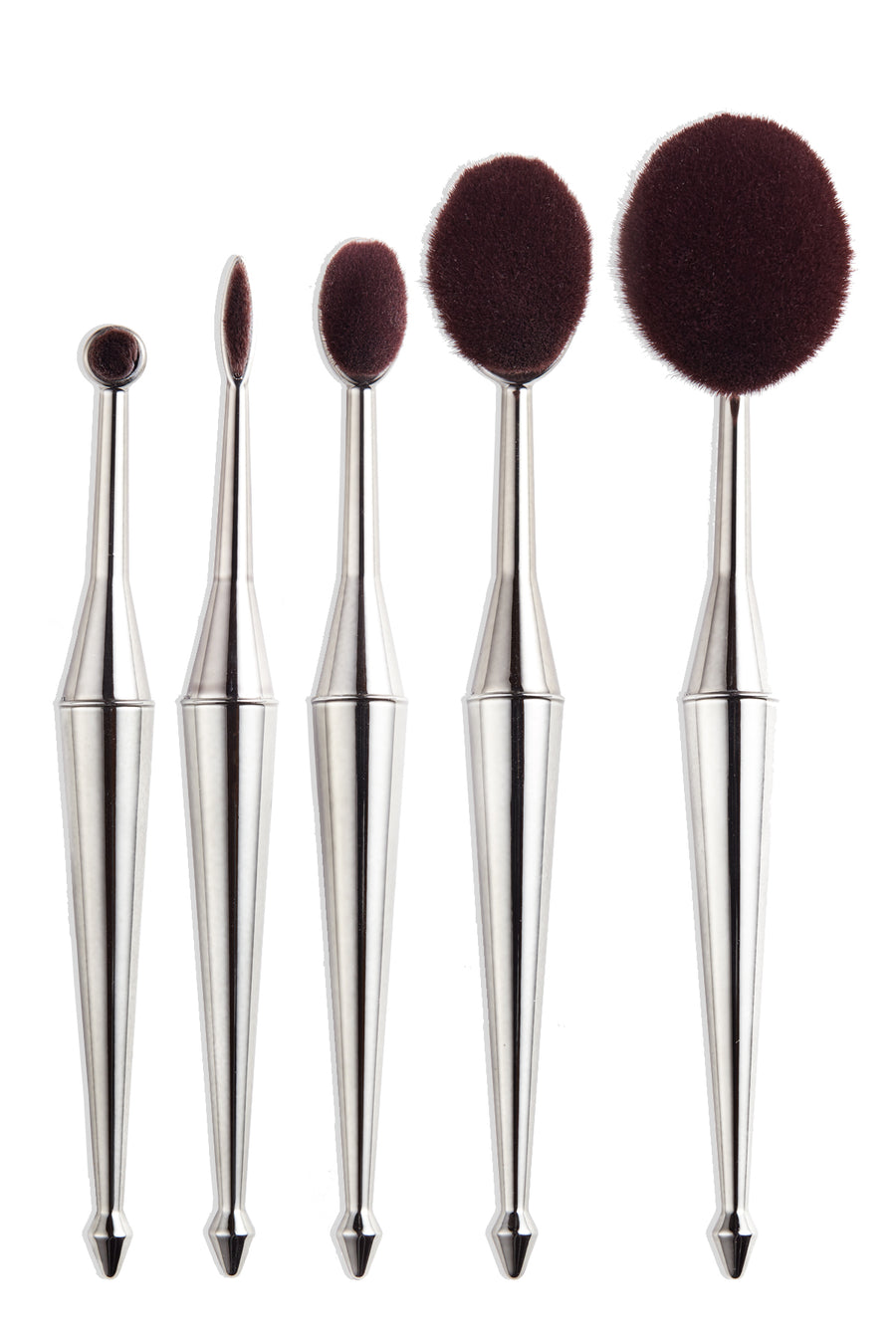 5-pc Oval Brush Set
