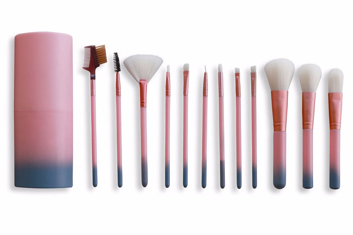 Travel Set Makeup Brushes with Box