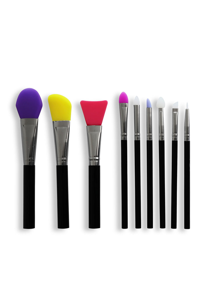 Silicon Brushes Set