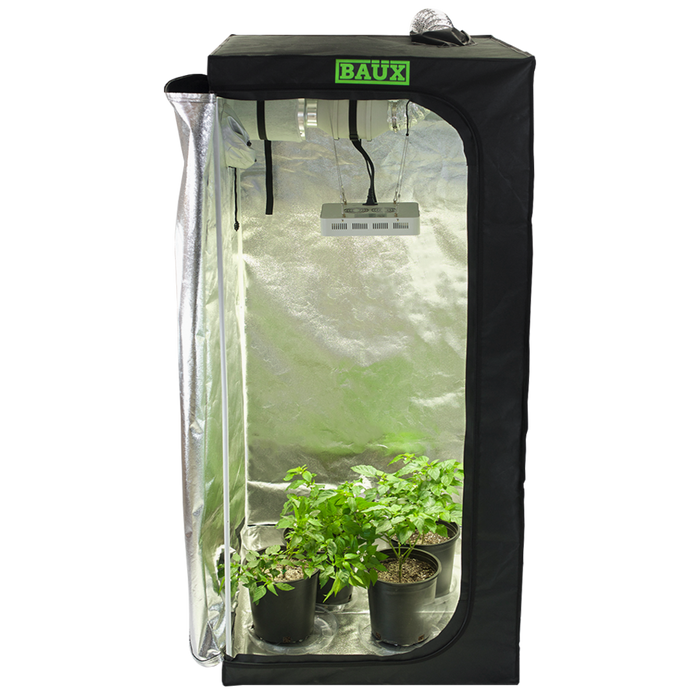 Baüx Industries 3' x 3' Complete Grow Tent Kit