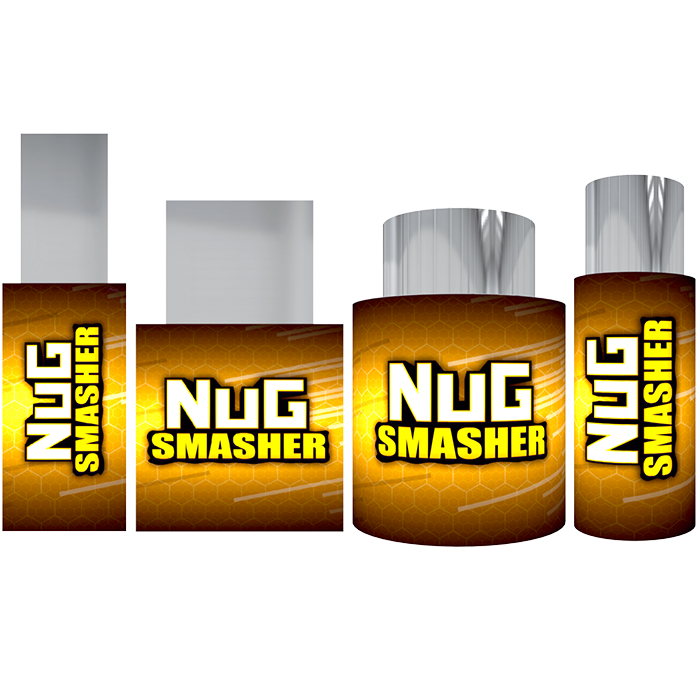 Nugsmasher Pre Press Mold Set of 4