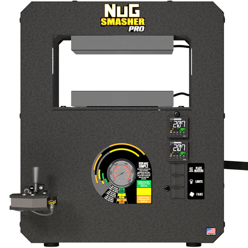 NugSmasher Pro 20 Ton Pneumatic/Manual Rosin Press