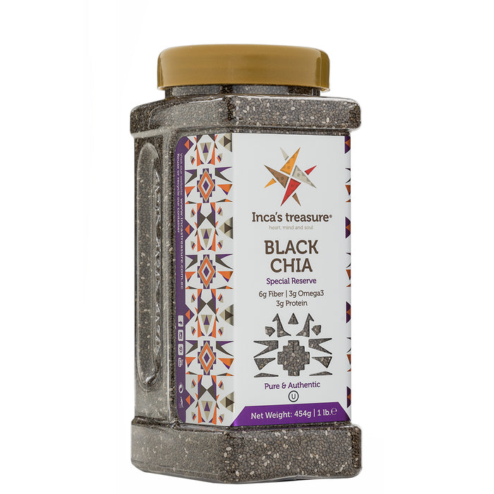 Chia Black Seeds - incastreasure
