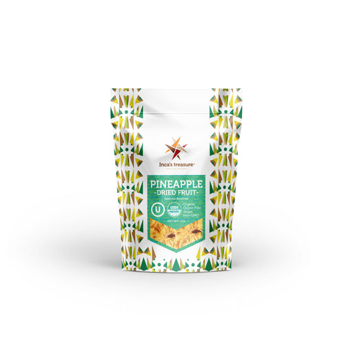 Pineapple (Dried) - Healthy Snack - incastreasure