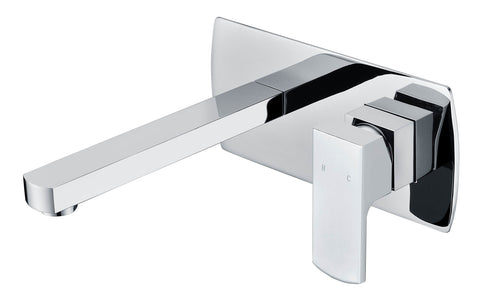Alba Wall Spout and Mixer