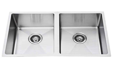 Square Double Bowl Sink