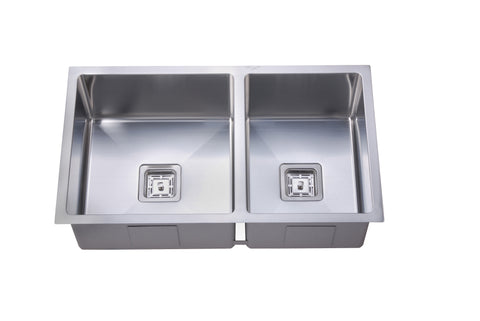 Deep 1 & 3/4 Square Bowl Sink
