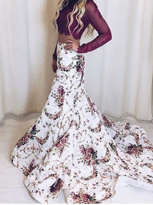 HARPER Two Pieces Prom Dress