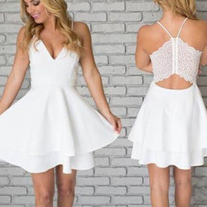 tania lace short dress